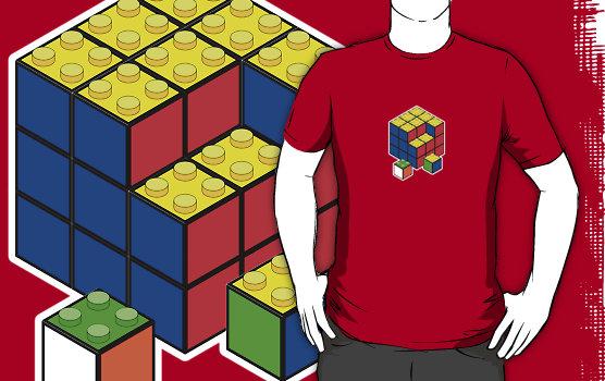 Lego Cube T-Shirt
