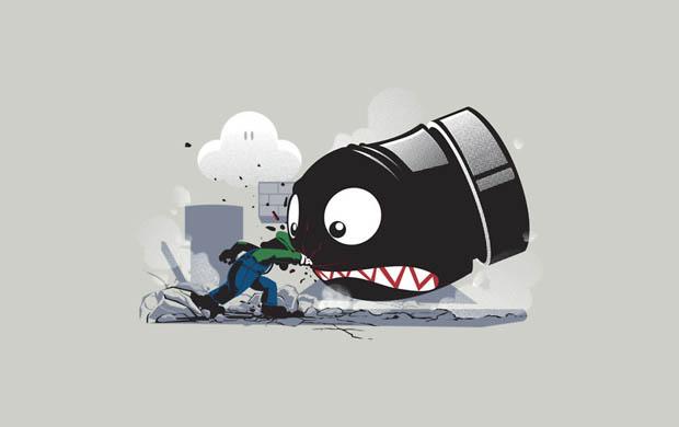Luigi Always Angry T-Shirt