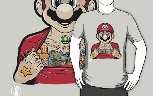 Mario's Got Ink T-Shirt
