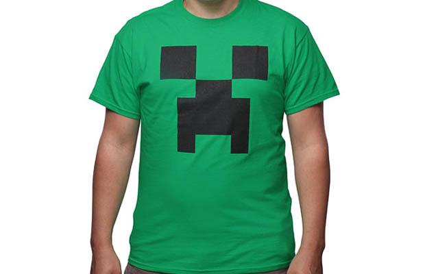 Minecraft Creeper Costume T-Shirt