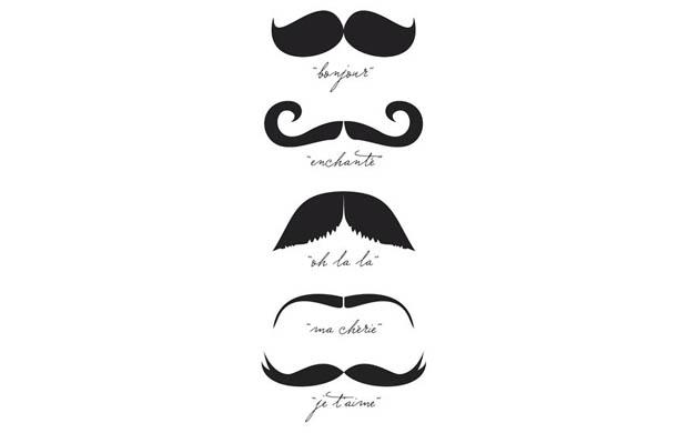 Monsieur Moustache T-Shirt