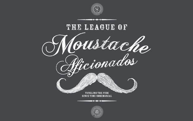 Moustache Afficionado League T-Shirt