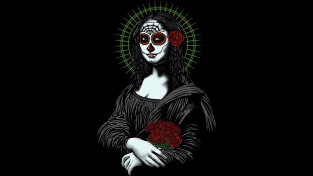Muerte De Mona Lisa Tee