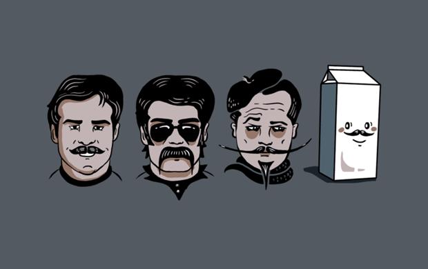 Mustache Club T-Shirt