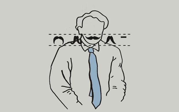 Mustache Selector T-Shirt
