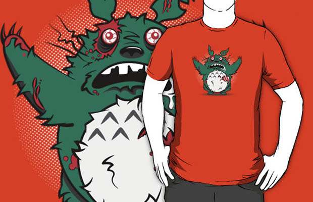 My Undead Totoro T-Shirt