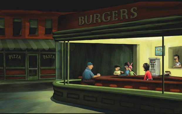 Night Burgers T-Shirt