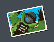Photo Bomb Squad Tee