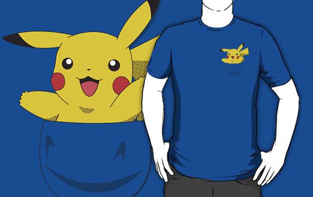 Pikachu Pocket Monster T-Shirt