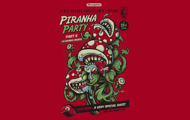Piranha Party T-Shirt