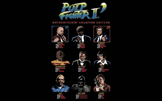 Pulp Fighter II Motherfuckin Champion Edition T-Shirt