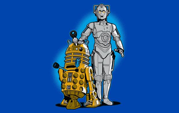 R2DWho Cyb3rPO T-Shirt