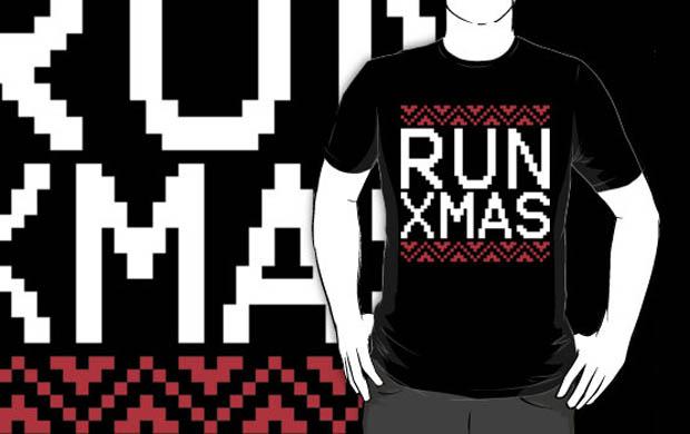 RUN XMAS Sweater T-Shirt