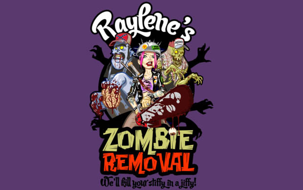 Raylenes Zombie Removal T-Shirt