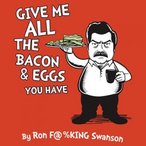 Ron Swanson Dr Seuss T-Shirt