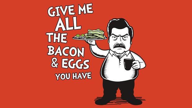 Ron Swanson Dr Seuss T-Shirt