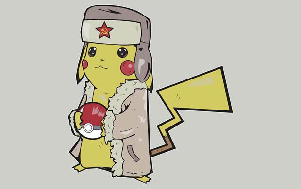 Soviet Pikachu T-Shirt