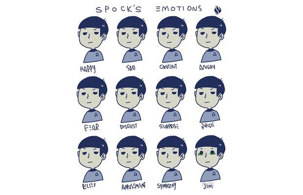 Spocks Emotions T-Shirt