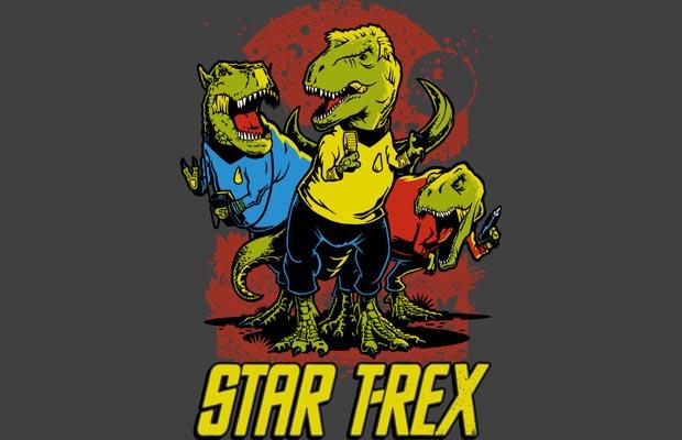 Star T-Rex T-Shirt