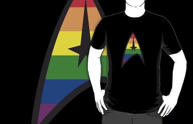 Star Trek Gay Pride T-Shirt