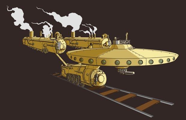 Steamship Enterprise T-Shirt