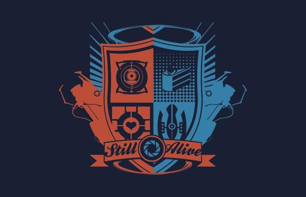 Still Alive Crest T-Shirt