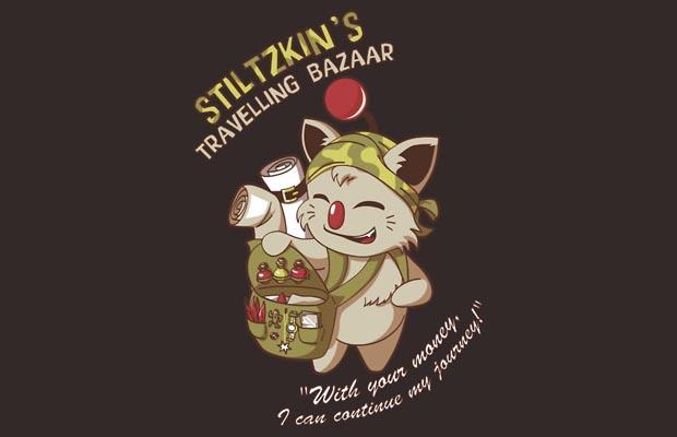 Stiltzkins Travelling Bazaar T-Shirt