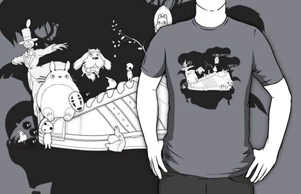 Studio Ghibli X Adidas T-Shirt