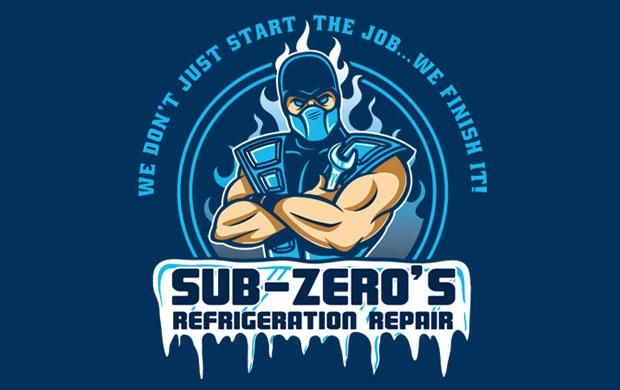 Sub Zero Refrigeration T-Shirt