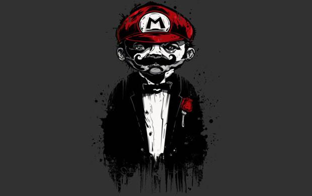 Super Mario Father T-Shirt