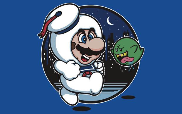 Super Marshmallow Bros. T-Shirt