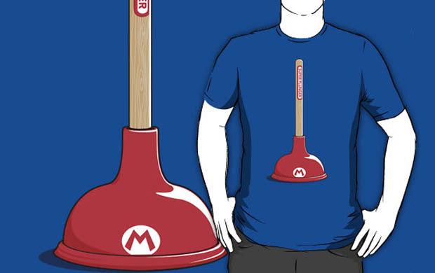 Super Plunger T-Shirt