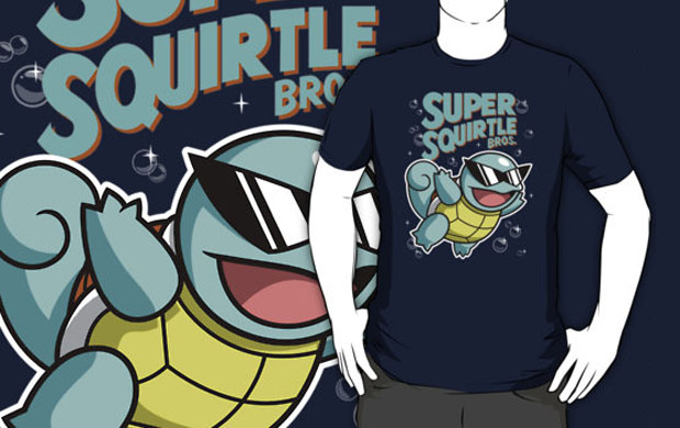 Super Squirtle Bros T-Shirt