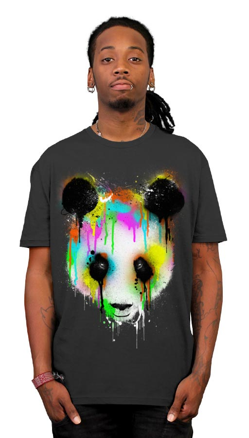 Technicolour Panda T-Shirt