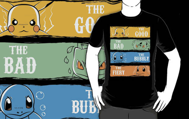 The Good The Bad The Bubbly The Fiery T-Shirt