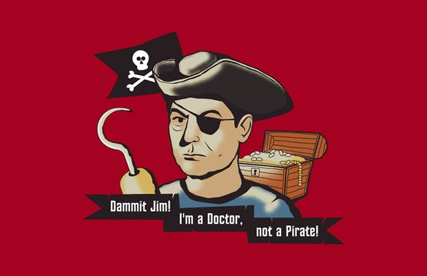 The Pirate McCoy T-Shirt