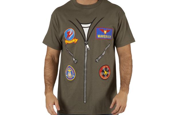 Top Gun Maverick Flight Suit Costume T-Shirt