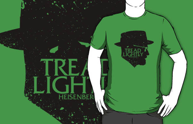 Tread Lightly Silhouette T-Shirt