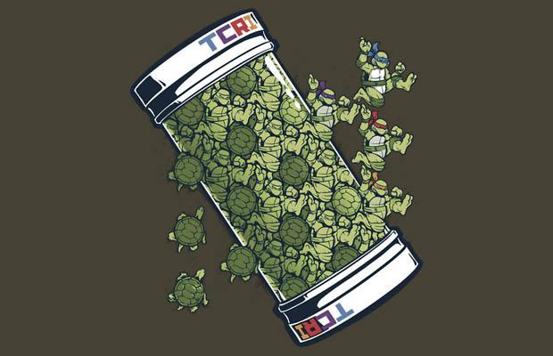 Turtle Tessellation T-Shirt