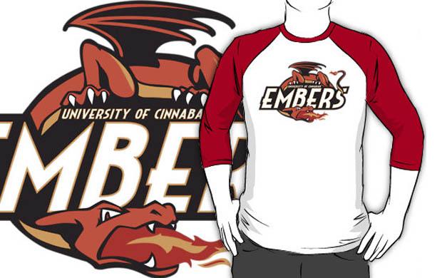 University of Cinnabar Island T-Shirt