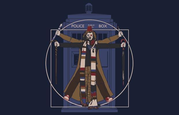 Vitr-Whovian Doctor T-Shirt
