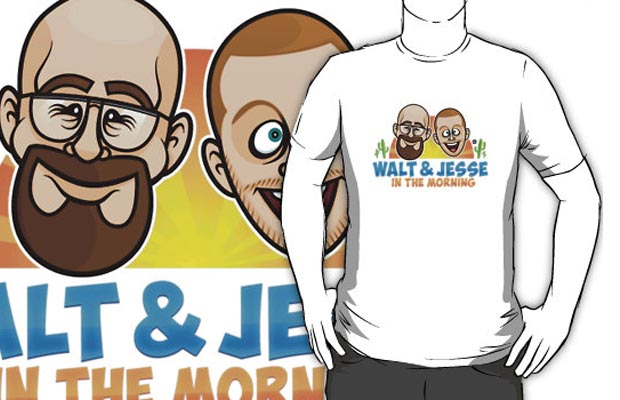 Walt & Jesse in the Morning T-Shirt
