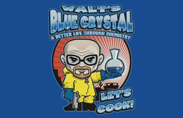 Walts Blue Crystal T-Shirt