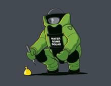 Water Bomb Squad Tee