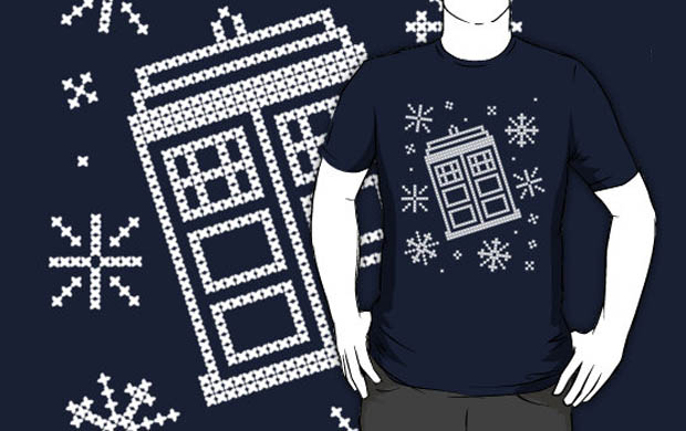 Wibbly Wobbly Christmas Sweater T-Shirt