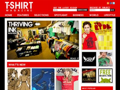 tshirt magazine